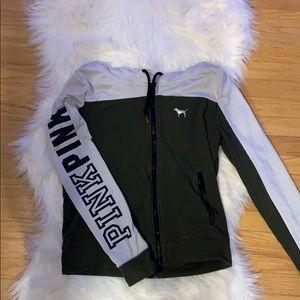 Victoria's Secret PINK Zip-up Sweatshirt